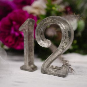 Silver Glass Numbers